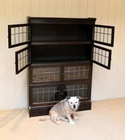 Dark Oak Sectional Stacking Bookcase (10 of 10)