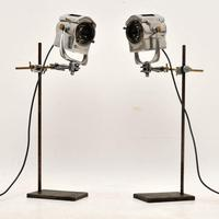 1950's Pair of Vintage Spotlights / Table Lamps (5 of 15)