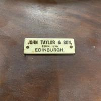 Superb Quality Mahogany Wine Table / Lamp Table by John Taylor (2 of 6)