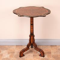 19th Century Marquetry Tripod Table (11 of 17)