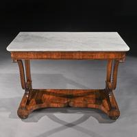 Pair Of Early 19th Century Italian Walnut And Marble Top Console Tables (9 of 10)