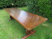 Large French Oak Refectory Dining Table (7 of 12)