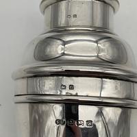 George V Sterling Silver Cocktail Shaker Birmingham 1931 Suckling Ltd (10 of 11)
