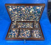 Victorian Mahogany Collectors Box (6 of 10)