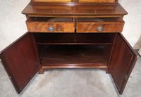 Edwardian Inlaid Mahogany Bookcase - (5 of 10)