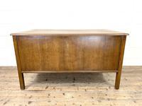 Early 20th Century Antique Oak Pedestal Desk (9 of 9)