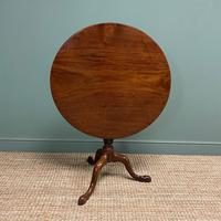 Georgian Mahogany Circular Antique Table (4 of 8)