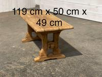 Great Rustic French Bleached Oak Coffee Table (25 of 25)