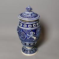 Antique Tobacco Jar, Westerwald, 19th Century (12 of 13)
