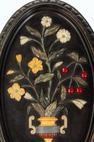 Attractive Pair of Late 19th Century Pietra Dura Pictures (2 of 4)