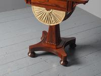 Antique William IV Rosewood Work Table (8 of 9)