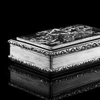 Rare Antique Georgian Solid Silver Mazeppa Snuff Box - Edward Smith 1836 (23 of 23)