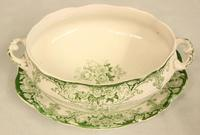 Antique Sauce Tureen on Stand (6 of 6)