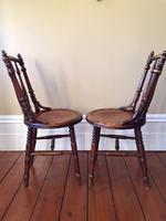 Pair of Antique Thonet Style Bentwood Chairs (6 of 14)