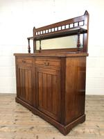 Antique Mahogany Sideboard with Mirror Back (9 of 13)
