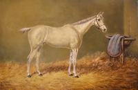 Beverley, Oil Painting of a Horse by William Eddowes Turner (4 of 7)