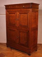 Small 4 Doors Buffet in Blond Oak - 19th Century (3 of 9)