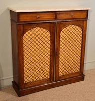 Regency Goncalo Alves Chiffonier / Side Cabinet (7 of 7)