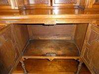 English 19th Century Walnut & Amboyna Cabinet (7 of 11)