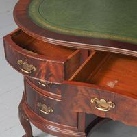 Georgian Style Kidney Shaped Desk by Justice & Sons (6 of 11)