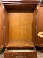 1920s Mahogany Wardrobe (4 of 5)