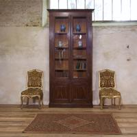 A Tall Majestic 19th Century French Faux Rosewood Bibliothèque - Bookcase (3 of 3)