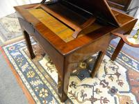 Chippendale period mahogany architect's table (2 of 9)