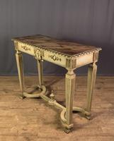 Italian Painted & Giltwood Console Table (6 of 11)