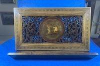 Victorian Italian Sorento Olivewood Book Stand with Micro Mosaic Inlay (21 of 23)