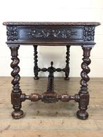 Antique Carved Oak Table (8 of 10)
