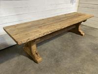 Rare Huge 3m Bleached Oak Farmhouse Table (19 of 23)