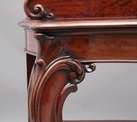 19th Century Carved Mahogany Serving Table (7 of 9)