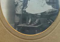 Enchanting Original Show-framed 19th Century Double Portrait Photograph of 2 Siblings (7 of 11)