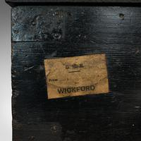 Antique Railway Carriage Chest, English, Pine, Mail Trunk, GWR, Edwardian, 1910 (11 of 11)