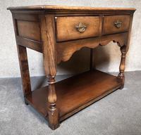 Titchmarsh & Goodwin Small Oak Dresser Base (2 of 8)