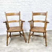 2 x Windsor Barback Armchairs