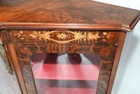 Victorian Credenza Walnut Sideboard Cabinet c.1880 (7 of 16)