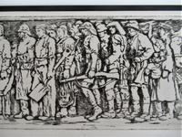 R S Forrest print, Scottish National War Memorial, after Meredith Williams c1927 (8 of 8)