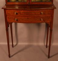 A Late Victorian Salon Cabinet Satinwood (3 of 8)