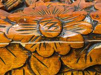 Chinese Camphor Wood Carved Birds & Flowers Chest Coffee Table (25 of 34)