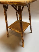 Victorian Bamboo Occasional Table (4 of 7)
