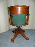 Oak Desk Chair - Adjustable (5 of 7)