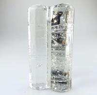 Timo Sarpaneva - Littala Scandinavian Contemporary Art Glass Candlestick c.1978