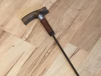 Gentleman's Walking Stick Sword Stick with Horned Handle (5 of 16)