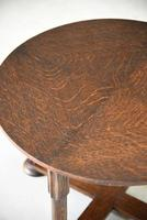 1930s Round Oak Coffee Table (10 of 12)