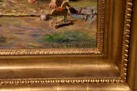 "Oil Painting by Alexander Davidson ""Morning Sunshine"" (5 of 6)"