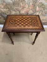 19th Century Games / Occasional Table with Inlaid Top (2 of 7)