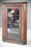 Rustic Oak Corner Cupboard (3 of 13)