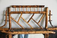 Antique Victorian Bamboo Mirror (9 of 9)