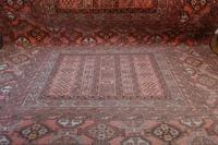Large Mid 20th Century Afghan Ensi Rug (7 of 13)